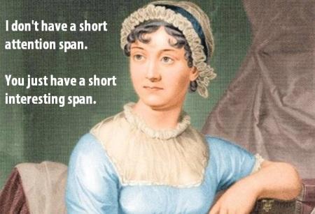 Jane Austen ADHD